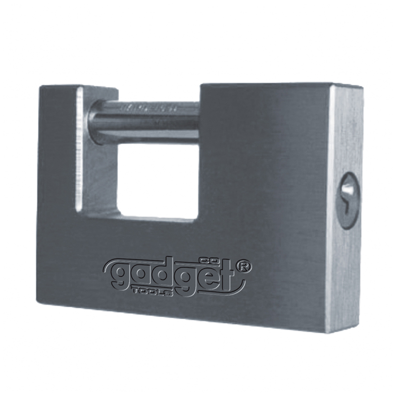 Lacat de bronz Gadget, 80 mm, inchidere orizontala, tip H 2021 shopu.ro