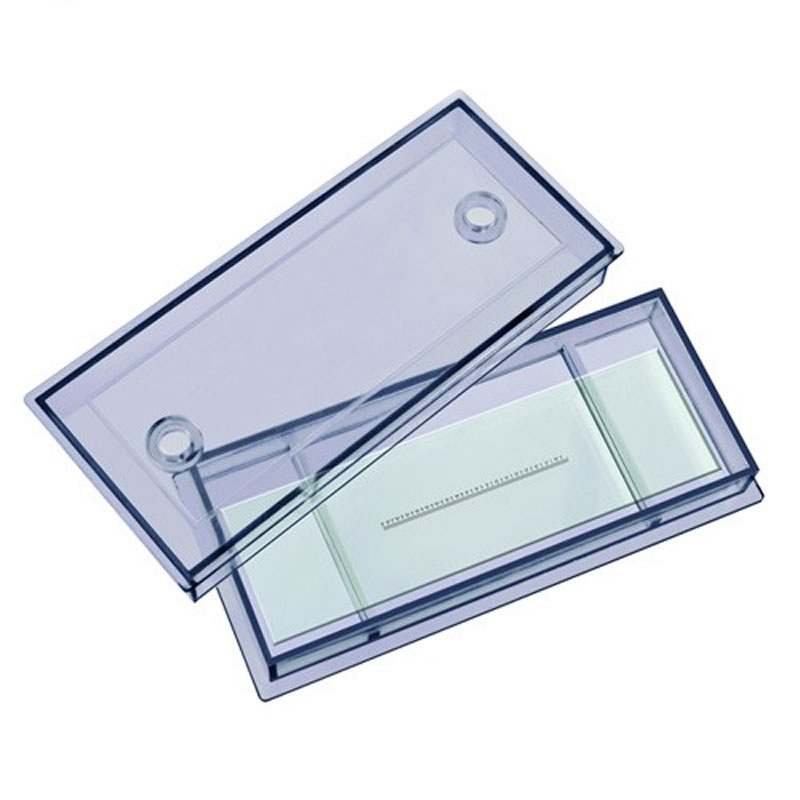 Lamela micrometrica Bresser, 0.1 mm 2021 shopu.ro