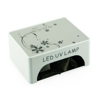 Lampa 36 W cu LED cu motive florale