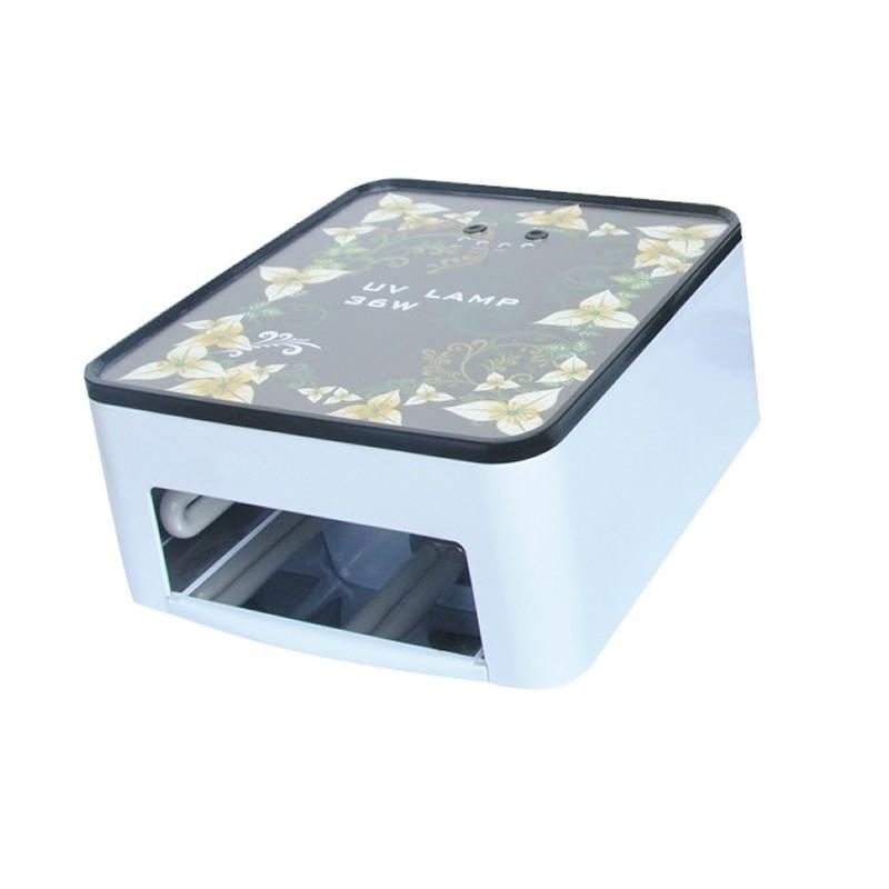 Lampa UV pentru manichiura Simei SM301, 36 W, motive florale 2021 shopu.ro