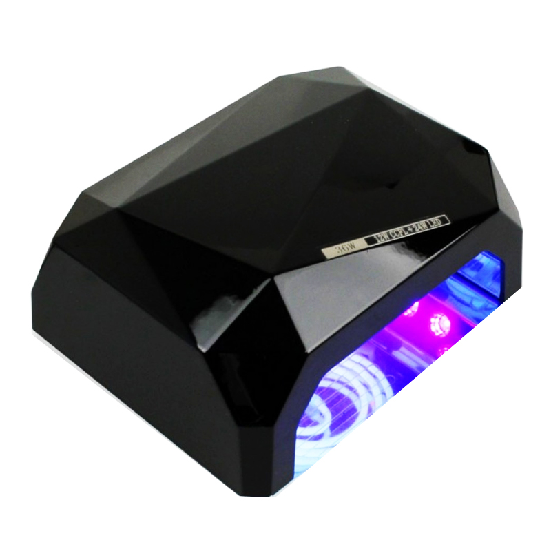 Lampa pentru unghii CCFL cu timer, 18 W, design compact 2021 shopu.ro