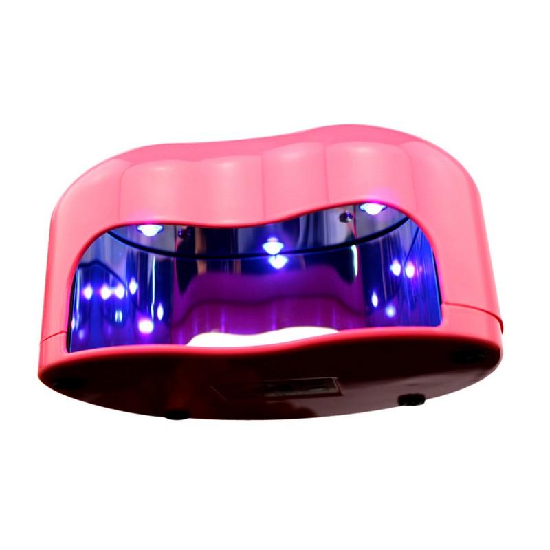 Lampa LED pentru manichiura, 3 W, model inima