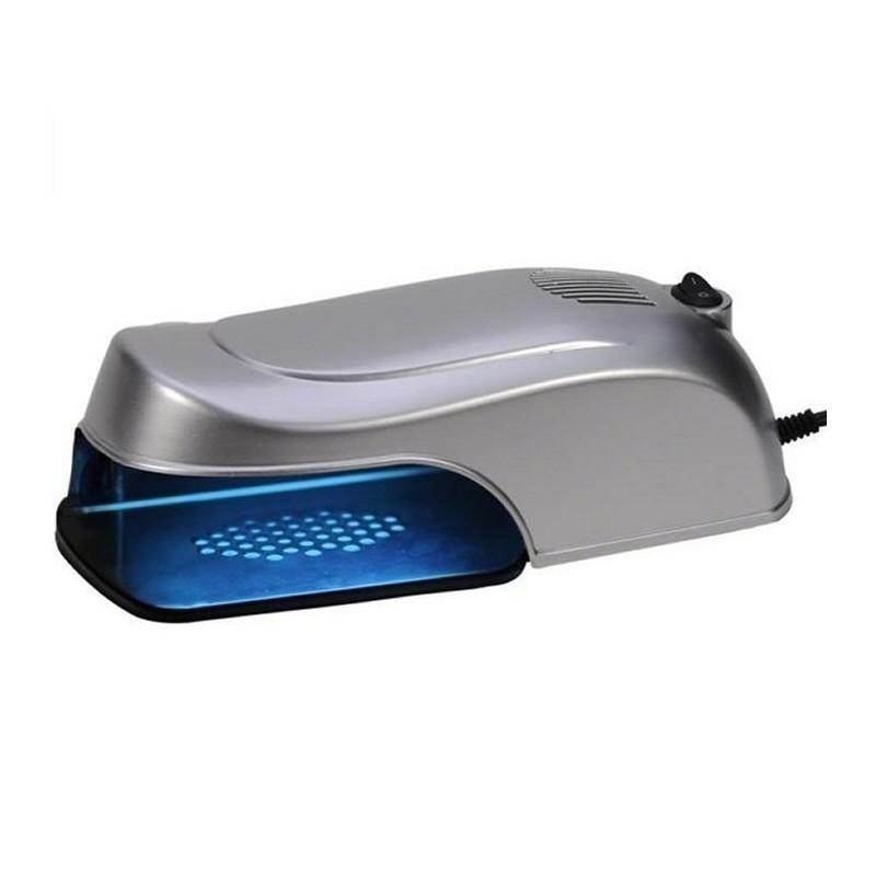 Lampa UV pentru manichiura Simei SM101, 9 W, Argintiu 2021 shopu.ro
