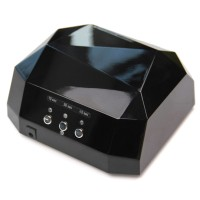 Lampa UV-LED/CCFL Lila Rossa, 36 W, Negru