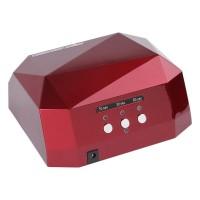 Lampa UV-LED/CCFL Lila Rossa, 36 W, Rosu