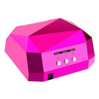 Lampa UV-LED/CCFL Lila Rossa, 36 W, Roz