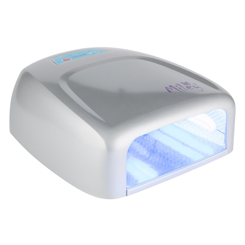 Lampa UV pentru manichiura Miley ML888S, 36 W, Argintiu 2021 shopu.ro