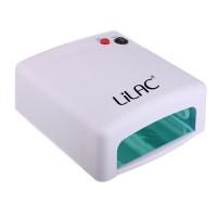 Lampa UV pentru unghii Lilac, 36 W, timer, 4 x neon UV, Alb