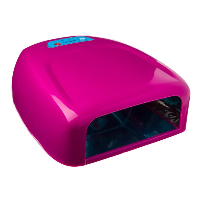 Lampa UV pentru unghii Miley ML888PR, 36 W, Roz 2021 shopu.ro