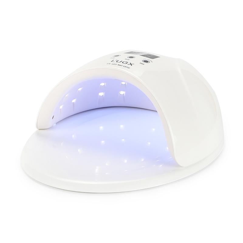 Lampa UV/LED pentru manichiura/pedichiura L'ugx LG, 50 W, timer, afisaj LED, suport detasabil 2021 shopu.ro