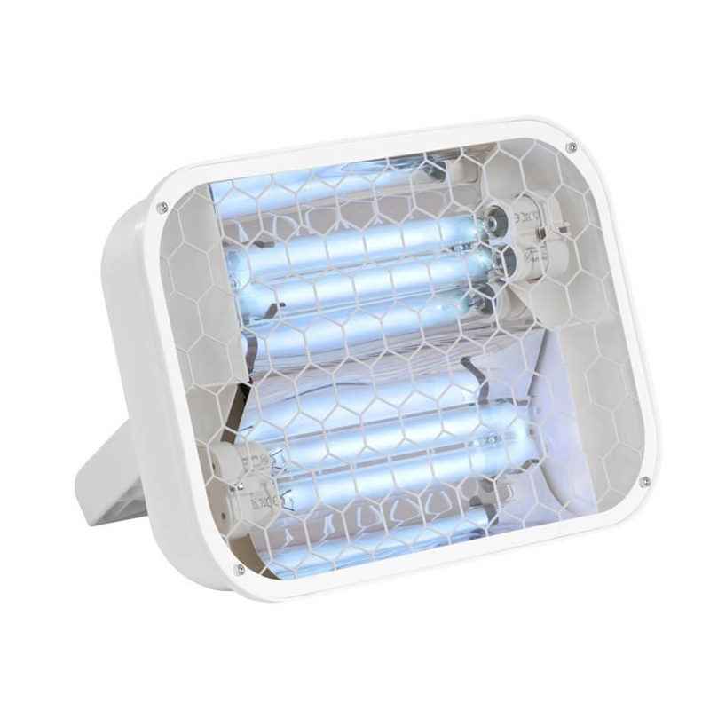 Lampa bactericida/germicida UV-C pentru suprafete, Lena Lighting, 36 W, 15 mp, protectie IP20, stativ si strap perete 2021 shopu.ro