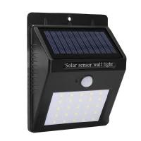 Lampa cu incarcare solara, 30 x LED, senzor PIR