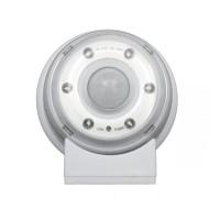 Lampa cu senzor de miscare URZ0686, 6 leduri, timer