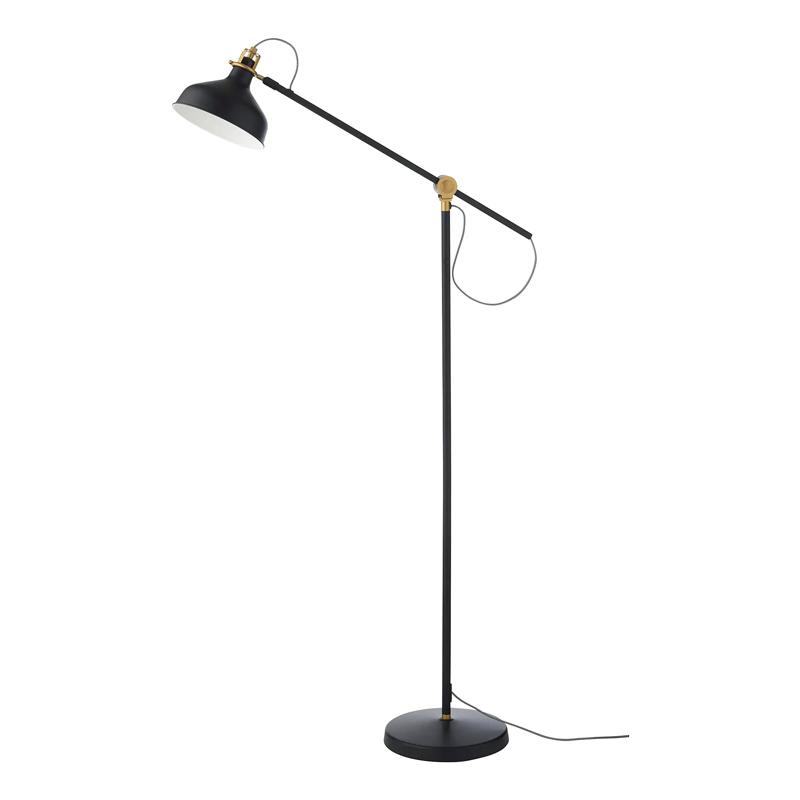 Lampa pentu citit, 11 W, inaltime 153 cm, brat reglabil, Negru 2021 shopu.ro