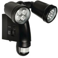 Lampa de exterior Konig, senzor de miscare si camera video incorporata