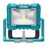 Lampa de lucru Total, 20 W, 20 V, 750/1500 lm, LED, 2 nivele luminare