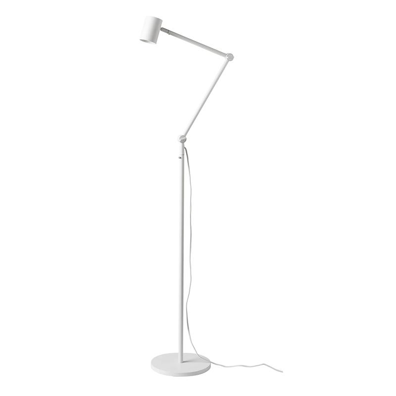 Lampa pentru citit, 8.5 W, inaltime 170 cm, Alb
