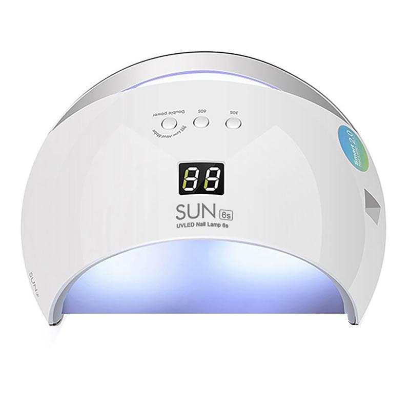 Lampa pentru manichiura UV/LED, 48 W, Alb 2021 shopu.ro
