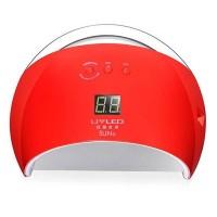 Lampa pentru manichiura UV/LED, 48 W, Red