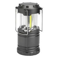Lampa portabila LED, 19 cm, Gri