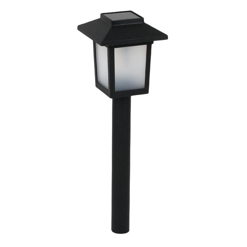 Lampa solara Blurry Flame, 8 x 8 x 37 cm, efect flacara shopu.ro