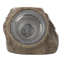 Lampa solara Hoff TH036K, forma piatra, LED, 12.5 cm