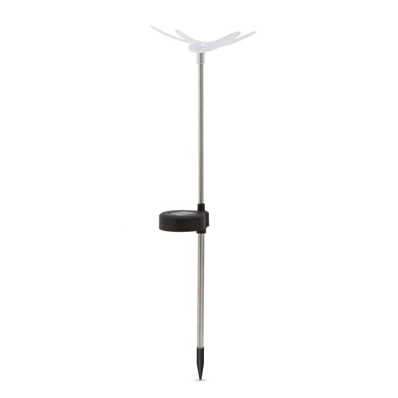 Lampa solara RGB LED Garden of Eden, 40 mAh, pornire automata, model libelula shopu.ro