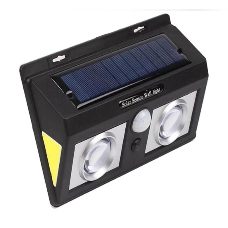 Lampa solara cu senzor de miscare CL-5066B, LED COB, 2400 mAh shopu.ro