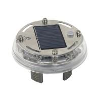 Lampa solara decorativa pentru janta YT-S02, acumulator, 12 x LED