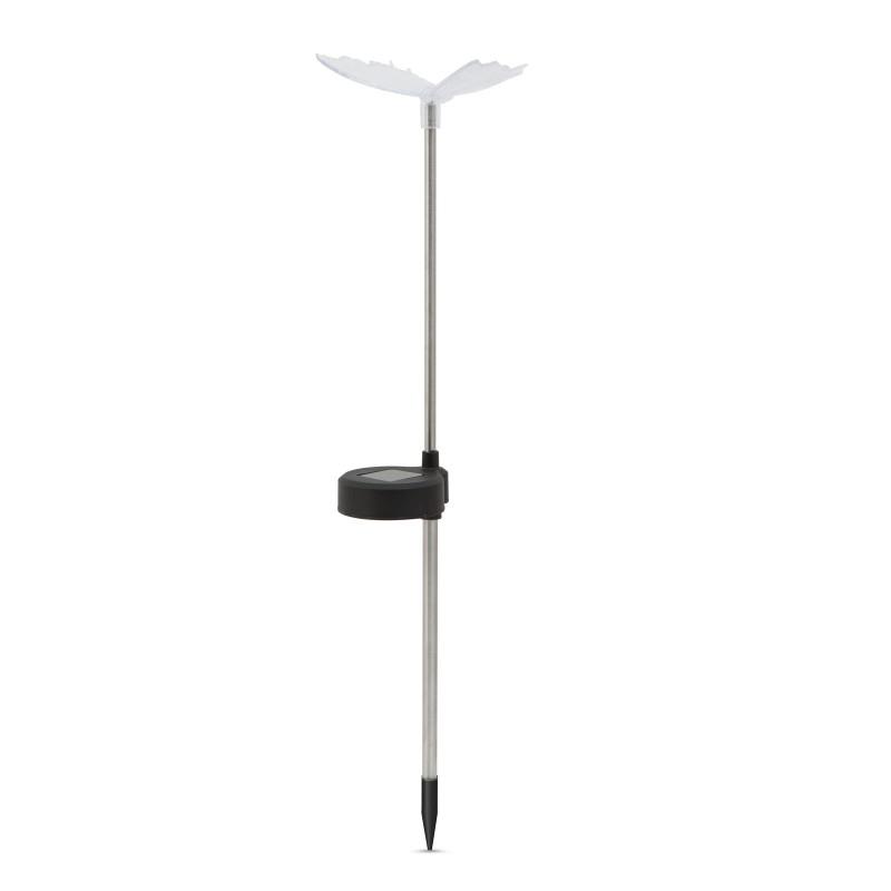Lampa solara pentru gradina Garden of Eden, 43 cm, 1 x LED, 40 mAh, model fluture shopu.ro