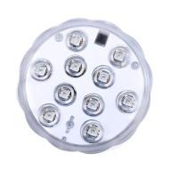 Lampa subacvatica, 10 x LED, telecomanda