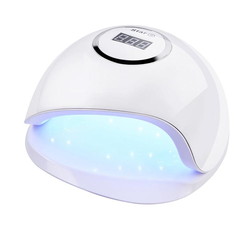 Lampa UV-LED manichiura/pedichiura SunUV, 80 W, 36 LED-uri, baza detasabila, Alb 2021 shopu.ro
