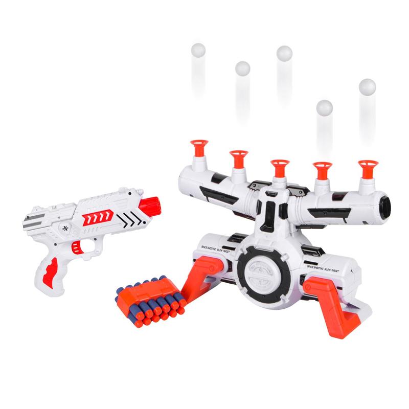 Lansator cu sageti Space Shooter, 5 bile luminoase, 12 sageti