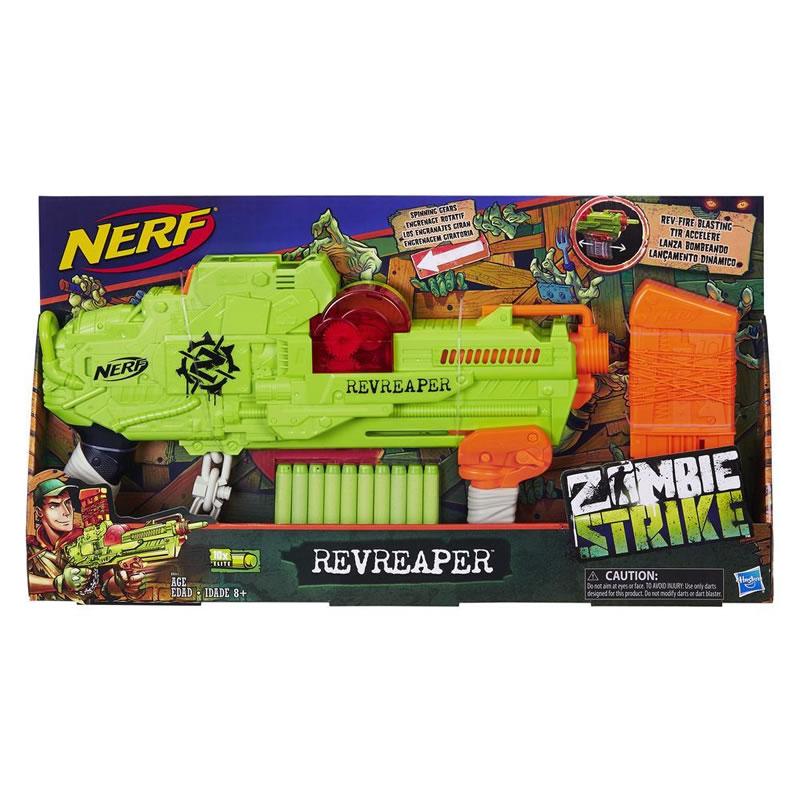 Lansator sageti Nerf Zombie Strike Hasbro, 10 sageti incluse