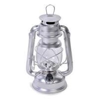 Lanterna LED AVEC, 20 x 33 cm, model felinar, Argintiu