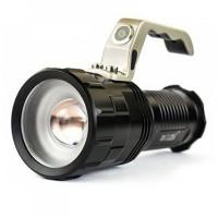 Lanterna cu led Bailong T6, zoom, acumulator