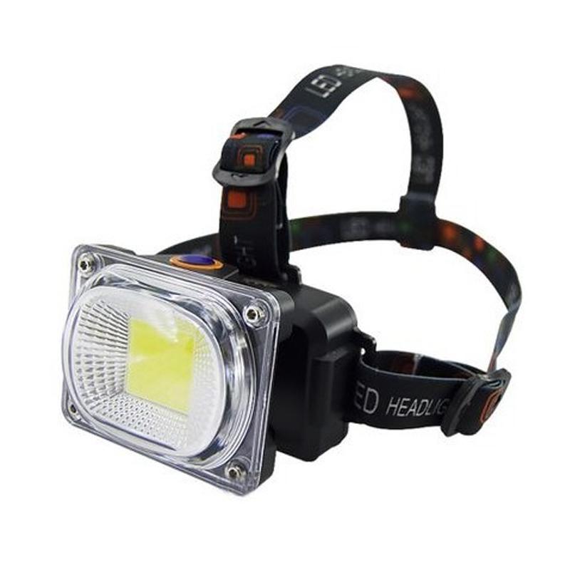 Lanterna de cap LL-6651, reincarcabila, 3 faze iluminare, acumulator inclus shopu.ro