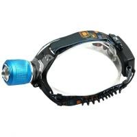Lanterna frontala Headlamp, zoom, 4 trepte lumina