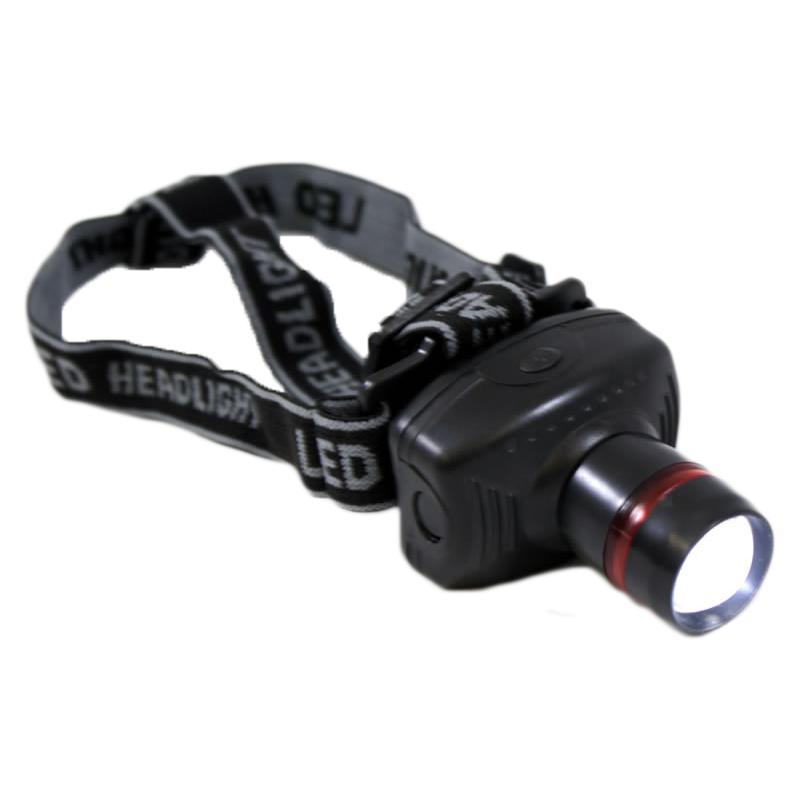 Lanterna frontala Well, LED, 1 W, 60 lm, curea elastica si reglabila