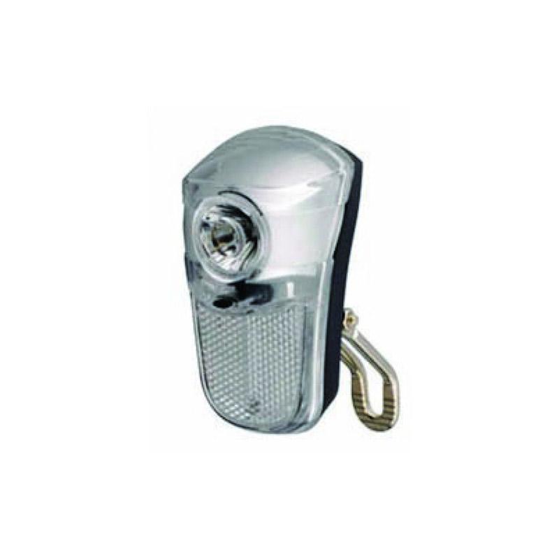 Lanterna pentru bicicleta City, 2 functii, alimentare 2 x AAA, Argintiu 2021 shopu.ro