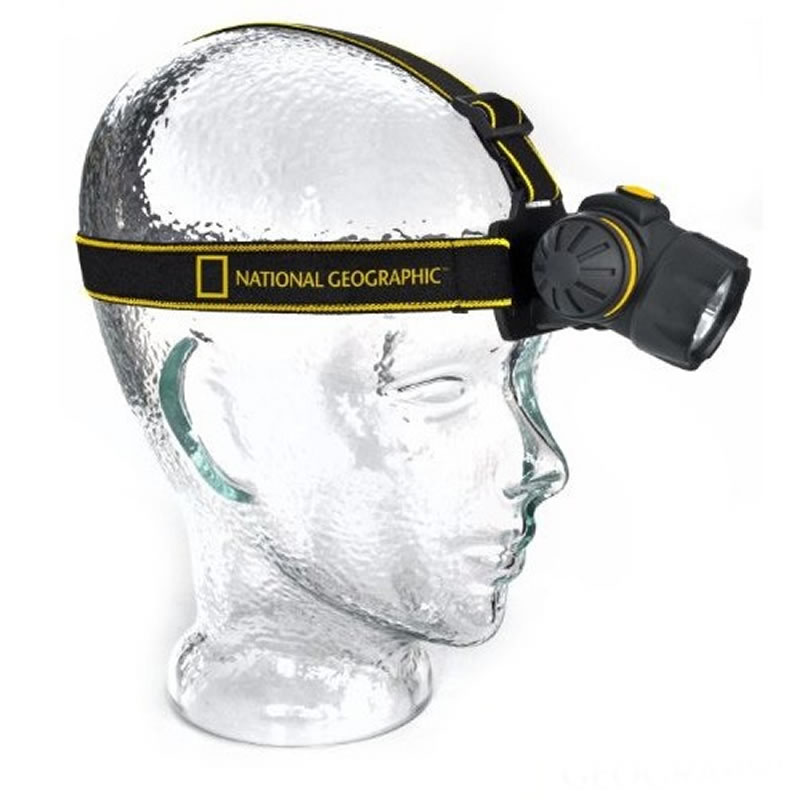 Lanterna pentru cap LED National Geographic 2021 shopu.ro
