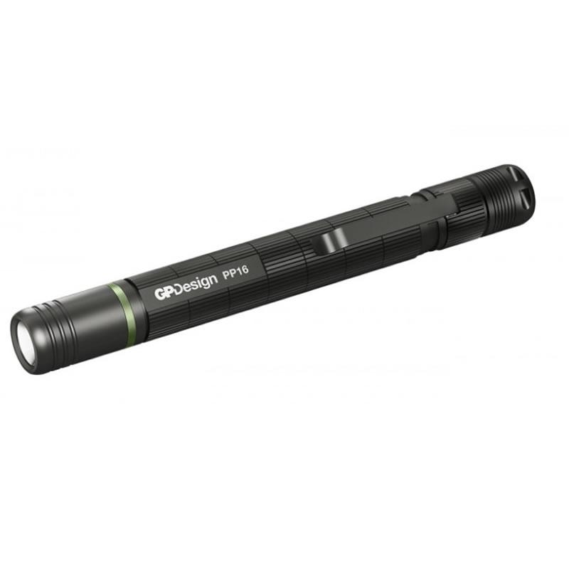 Lanterna profesionala Penlight PP16 GP, 55 m, clip de buzunar shopu.ro