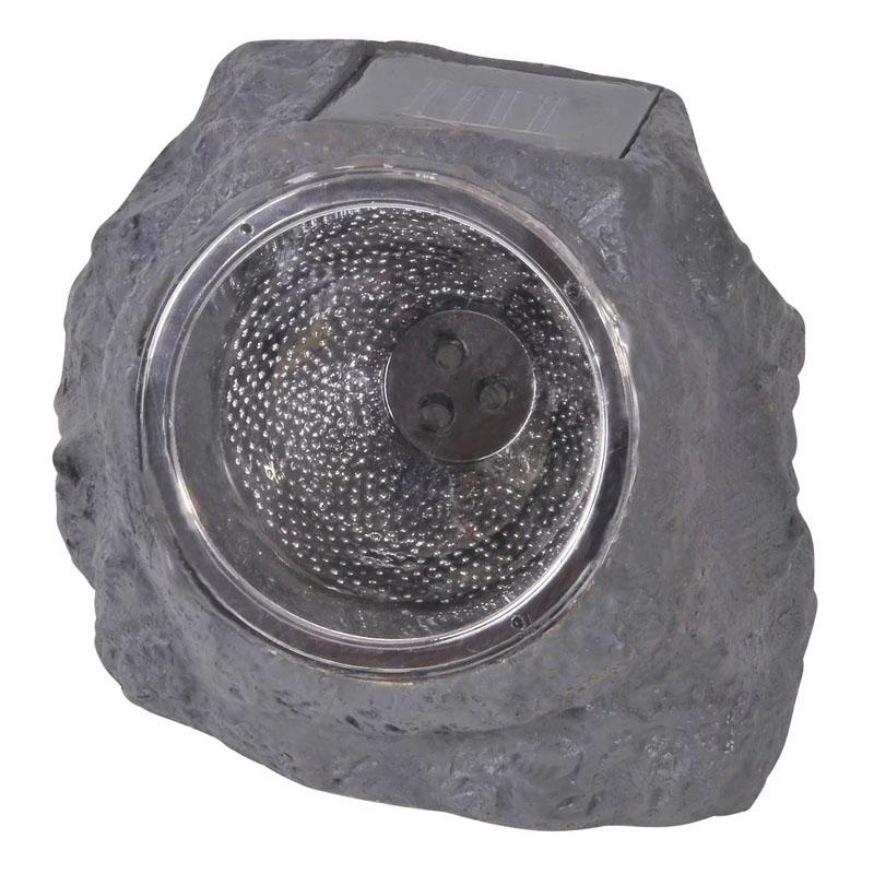 Lampa solara LED tip piatra, impermeabila, 16 x 12 x 11 cm shopu.ro