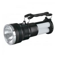 Lanterna solara YJ-2881T, LED, 1 W + 20 SMD, Negru