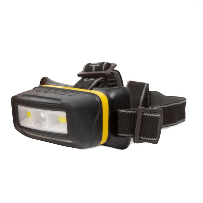 Lanterna pentru cap LED Phenom, Li-Ion, 2 x 5 W, 700 lm, IP65, plastic, tehnologie COB 2021 shopu.ro