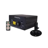 Laser LED Ibiza, 9 W, 24 gobos, 3 moduri audio, telecomanda