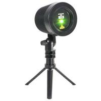 Laser de exterior, IP65, 9 moduri functionare, telecomanda, Rosu/Verde