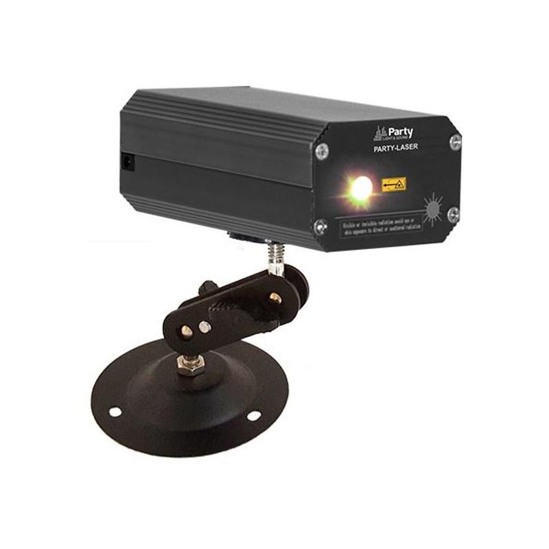 Laser firefly Ibizia, efect de licurici, control sunet, Rosu/Verde