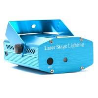 Laser pentru petreceri cu raspuns pe muzica, 2 diode