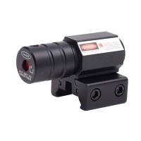 Laser pointer cu fixare pe arma/pistol, 100 m, lumina rosie